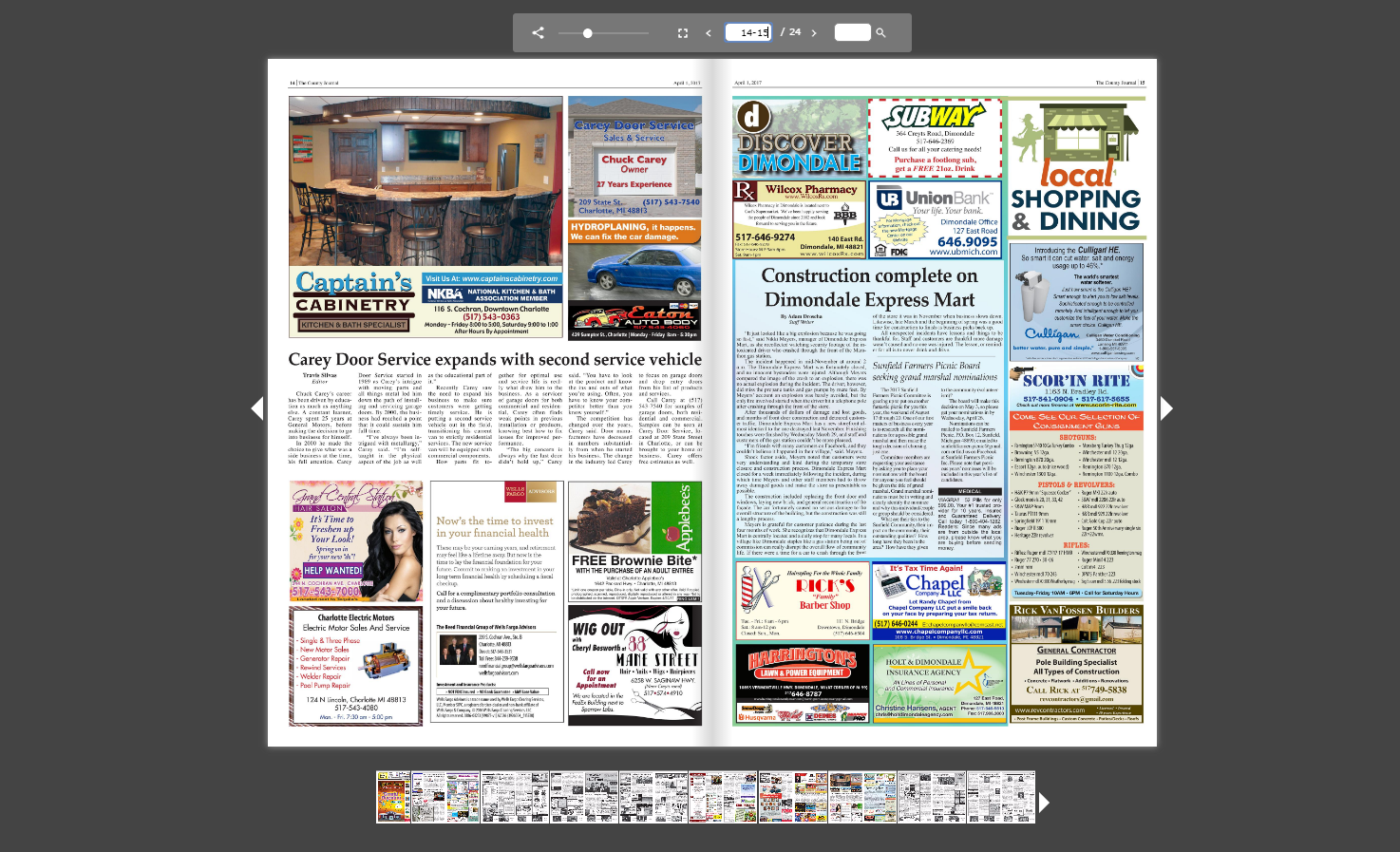 Michigan eaton county potterville - Read The County Journal Online